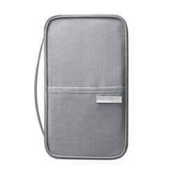 Кошелек органайзер для путешествий, серый 1396