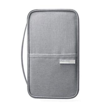 Кошелек органайзер для путешествий, серый П1396