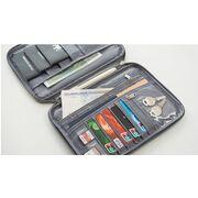 Кошельки - Кошелек органайзер для путешествий, серый П1396