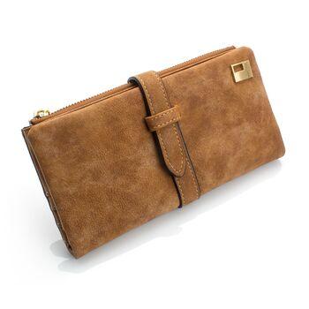 Женский кошелек, коричневый 0040