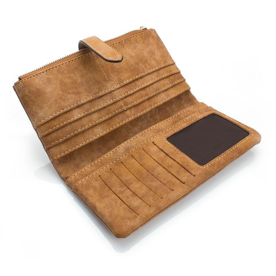 Кошельки - Женский кошелек, коричневый 0040