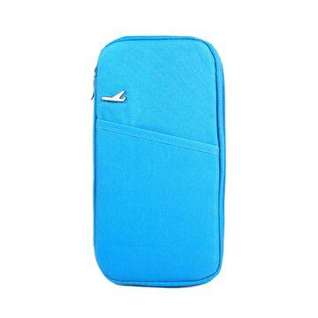 Кошелек органайзер для путешествий, голубой П1401