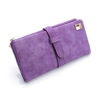 Женский кошелек, фиолетовый П0041