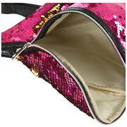 Поясные сумки - Женская поясная сумка, бананка, золотая П1409