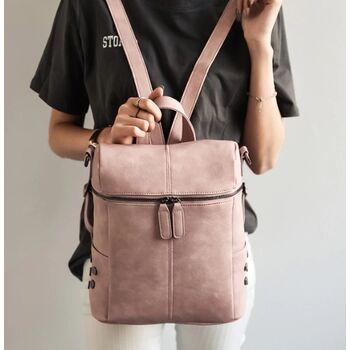 Женский рюкзак, розовый П0044