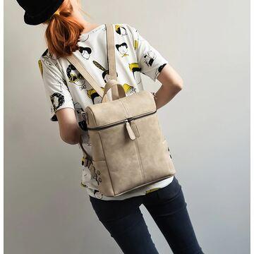 Женский рюкзак, бежевый П0045