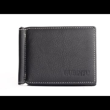 Зажим для денег, кошелек GUBINTU, черный П1452