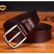 Мужские ремни и пояса - Мужской ремень DWTS, коричневый П0047