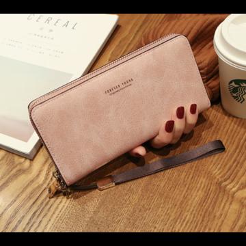 Женские кошельки - Женский кошелек, розовый П1478