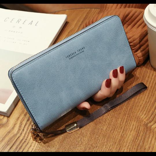 Женский кошелек, синий П1480