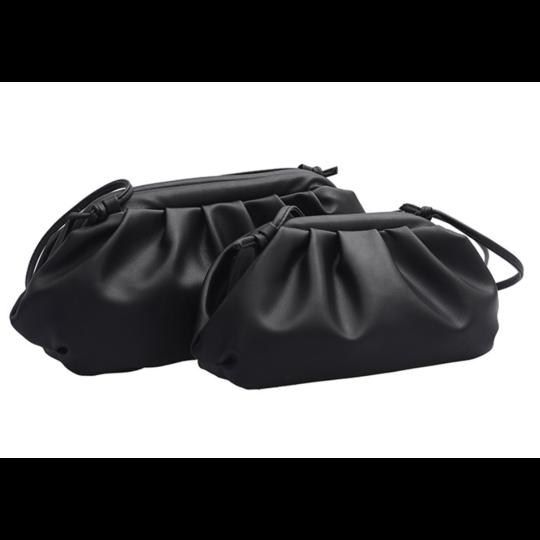 Женские сумки - Сумка женская, клатч LEFTSIDE меньшая, черная П1487
