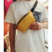 Поясная сумка, бананка Pierre Loues, желтая П1492
