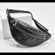 Поясные сумки - Женская сумка на пояс, бананка RAVIDINO, бежевая П1497