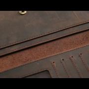 Мужские кошельки - Мужской кошелек, портмоне SIMLINE, черный П1500