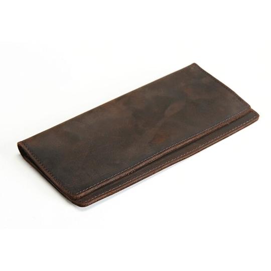 Мужские кошельки - Кошелек мужской, портмоне SIMLINE, коричневый П1501