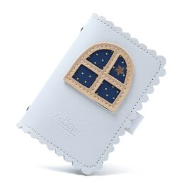 Визитница, картхолдер голубая 1509