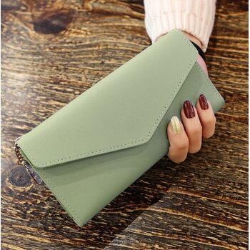 Женский кошелек, зеленый 0052