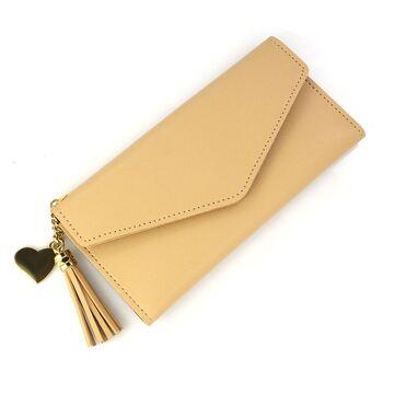 Женский кошелек, коричневый П0054