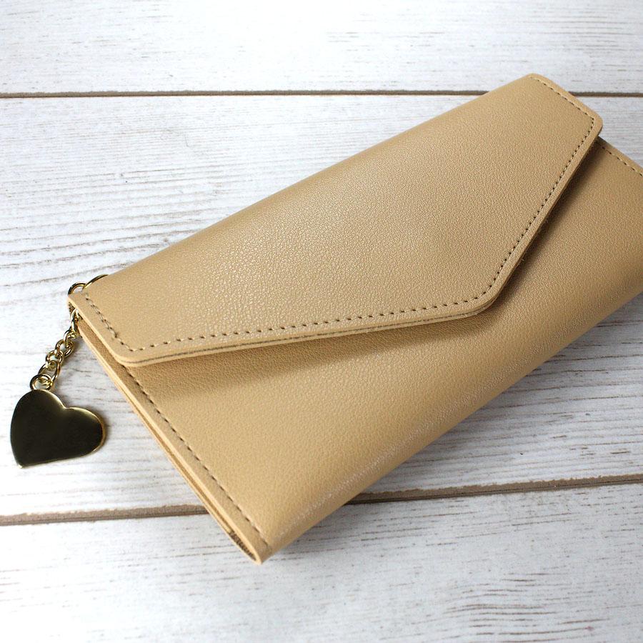 Женские кошельки - Женский кошелек, коричневый 0054
