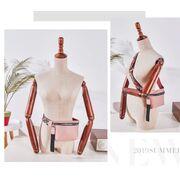 Поясная сумка женская на пояс DAUNAVIA, розовая П1544