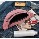 Поясные сумки - Женская сумка, банан DAUNAVIA, розовая П1554