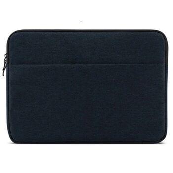 Сумка чехол для ноутбука синяя 1566