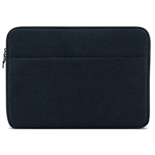 Сумки для ноутбуков - Сумка чехол для ноутбука синяя П1566