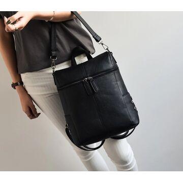 Женский рюкзак, черный П0057