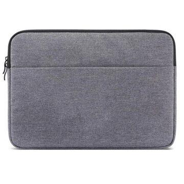 Сумка чехол для ноутбука серая П1568