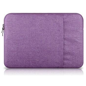 Сумка чехол для ноутбука фиолетовая 1569