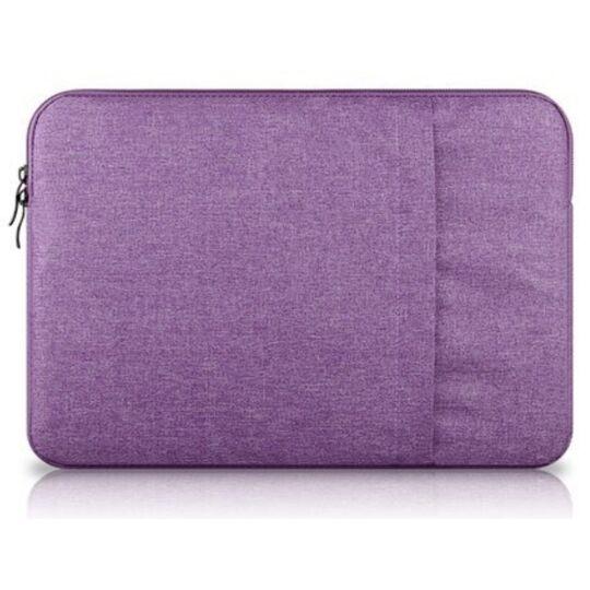 Сумки для ноутбуков - Сумка чехол для ноутбука фиолетовая П1569