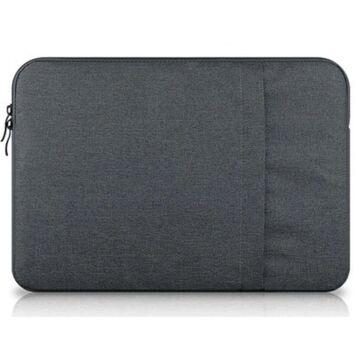 Сумка чехол для ноутбука серая П1570