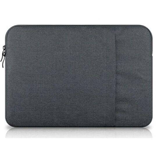 Сумки для ноутбуков - Сумка чехол для ноутбука серая П1570