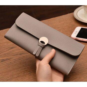 Женский кошелек, серый 0058