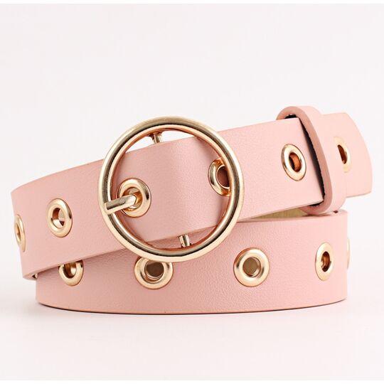 Ремень женский Bestybt, розовый П1587