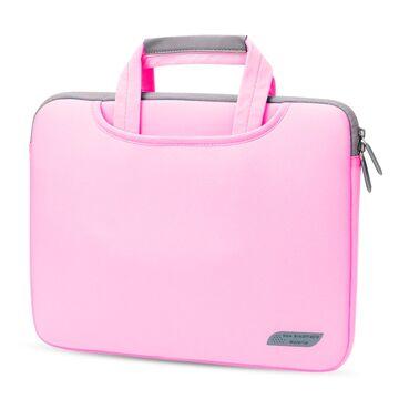 Сумка для ноутбука розовая П1596