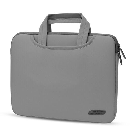 Сумки для ноутбуков - Сумка для ноутбука серая П1598