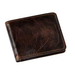 Зажим мужской для денег, коричневый, 1599