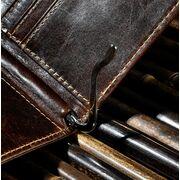 Мужские кошельки - Зажим мужской для денег, коричневый, П1599