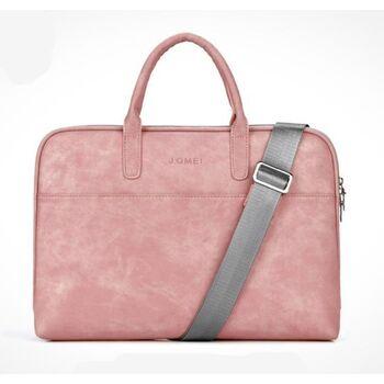 Сумка для ноутбука розовая 1601