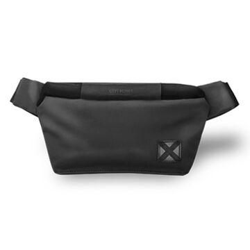 Поясная сумка мужская, черная, П1618