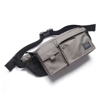 Поясная сумка мужская, серая П1619