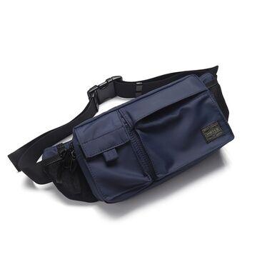 Поясная сумка мужская, синяя П1620