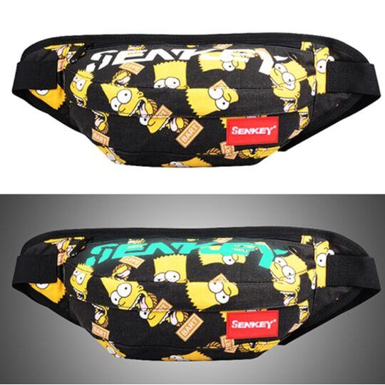 """Поясные сумки - Сумка на пояс, бананка """"Симпсоны"""" П1629"""
