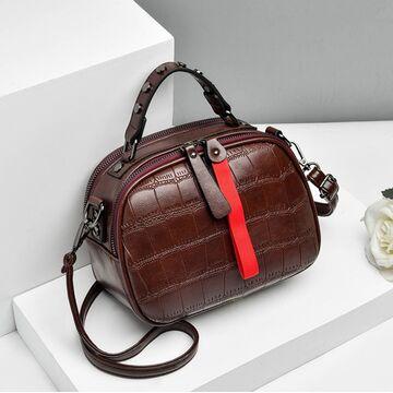 Женская сумка FUNMARDI, красная П1649