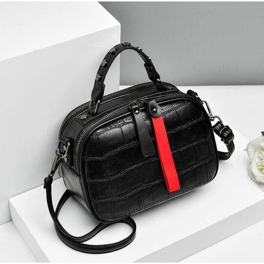 Женские сумки - Женская сумка FUNMARDI, черная П1652