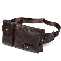 Поясная сумка мужская WESTAL , коричневая 1654