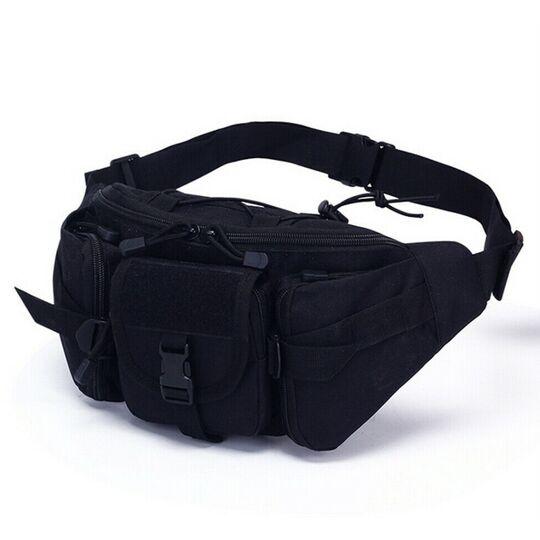 Поясные сумки - Сумка поясная армейская , черная П1657