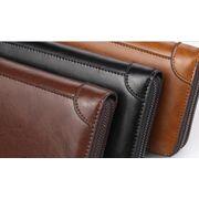 Барсетка мужская, портмоне, коричневая П1667