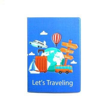 Обложка для паспорта, Вокруг света П1673